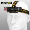 Kép 1/10 - Wizard Pro Magnet USB / White/Red - Fehér/piros fényű vízálló ArmyTek fejlámpa, taktikai lámpa