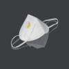 Kép 1/2 - KN95/FFP2 7 rétegű maszk - szelepes - fehér